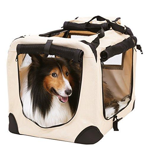 Songmics s gabbia trasportino borsa per cani xl for Trasportino per cani amazon