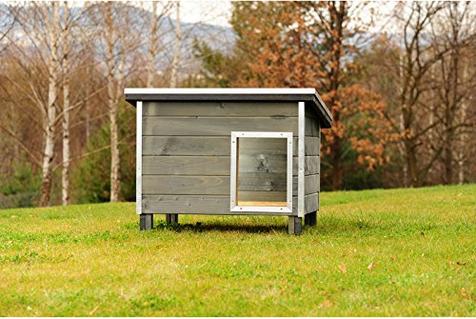 Cucce per cani grandi esterno taglia xl pinodog for Casette in legno per cani grandi