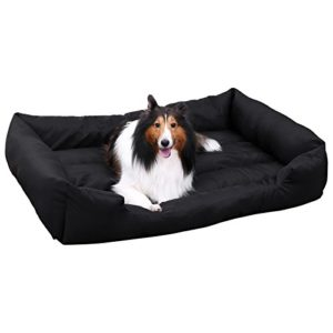 Songmics XXL Cuccia cuscini per cani Divano Letto per Cane gatto Pet Animali 120 x 85 cm PGW30H - 1