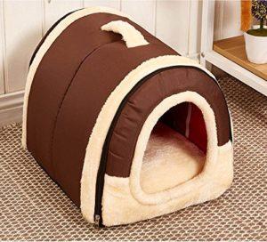 Cuccia per cani da interno chiusa