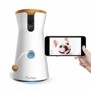 Furbo - Videocamera per Cani : Lancio di Croccantini, Telecamera HD WiFi per Animali e Audio Bidirezionale - 1