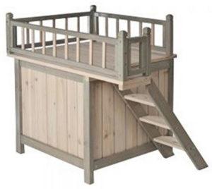 Cuccia per Cani - Cuccia a forma di casetta per cane da interni, in legno(1)