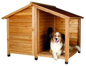 Cuccia per Cani - Trixie Casetta Natura Con Terrazza (1)