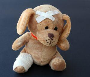 cuccia per cani - puppetto amalato